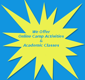 We Offer Online Camp Activities and Academic Classes